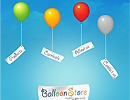 Balloon Store flash template