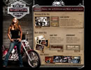 Bikers Club flash template