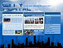 City Portal flash template