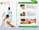 Cosmetics flash template