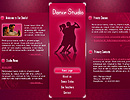 Dance Studio flash template