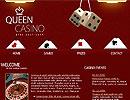 Queen Casino flash template