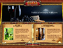 Royal Restaurant flash template