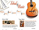 School Of Music flash template