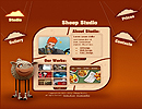 Sheep Studio flash template