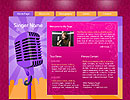 Singer Personal flash template