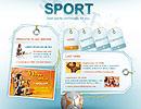 Sport flash template