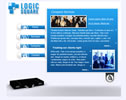 Briefcase flash template