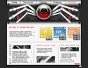 Spider Web flash template
